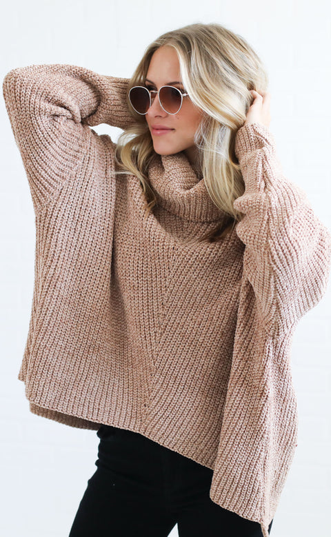 warm welcome chenille sweater