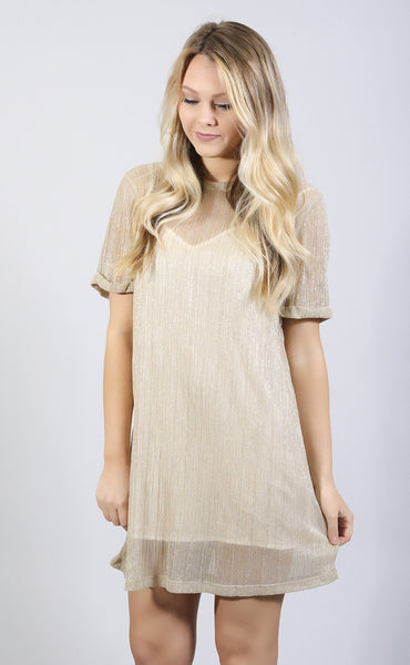 we've got the pleat shirt dress