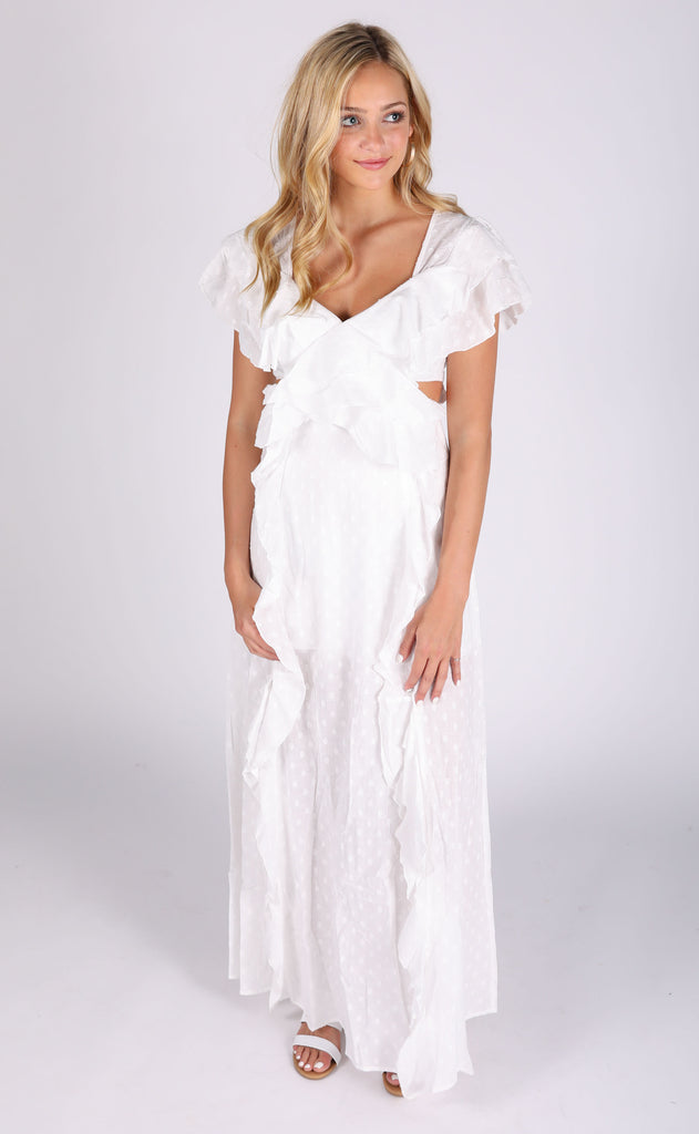 wedding bells maxi dress