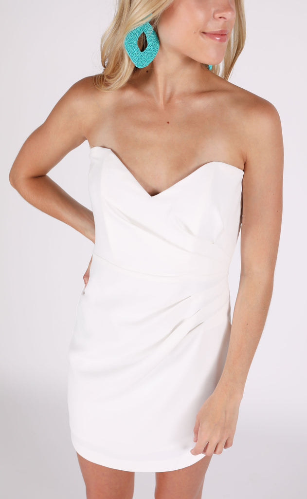 wedding bells strapless dress