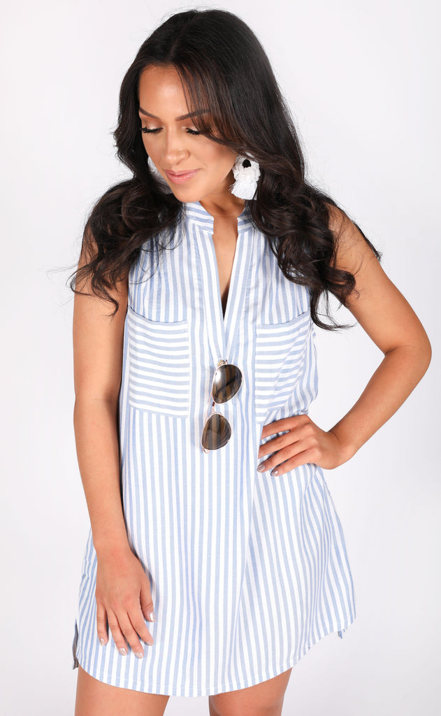 show me your mumu: wendy tunic dress - anchor stripe