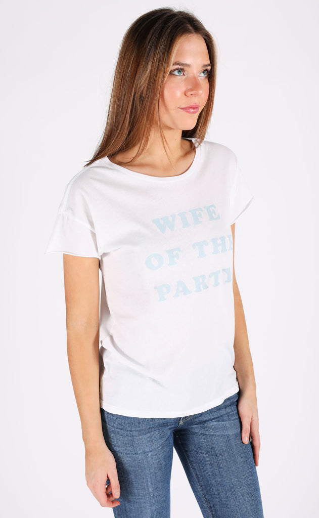 friday + saturday: wife of the party t shirt (PRE-ORDER)