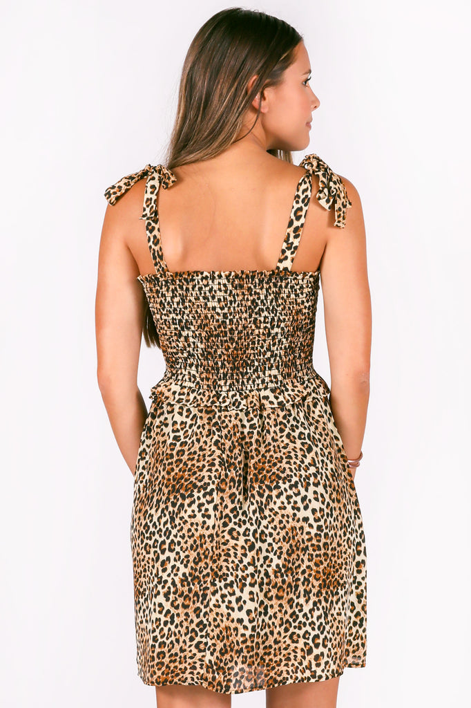 wild + out printed dress