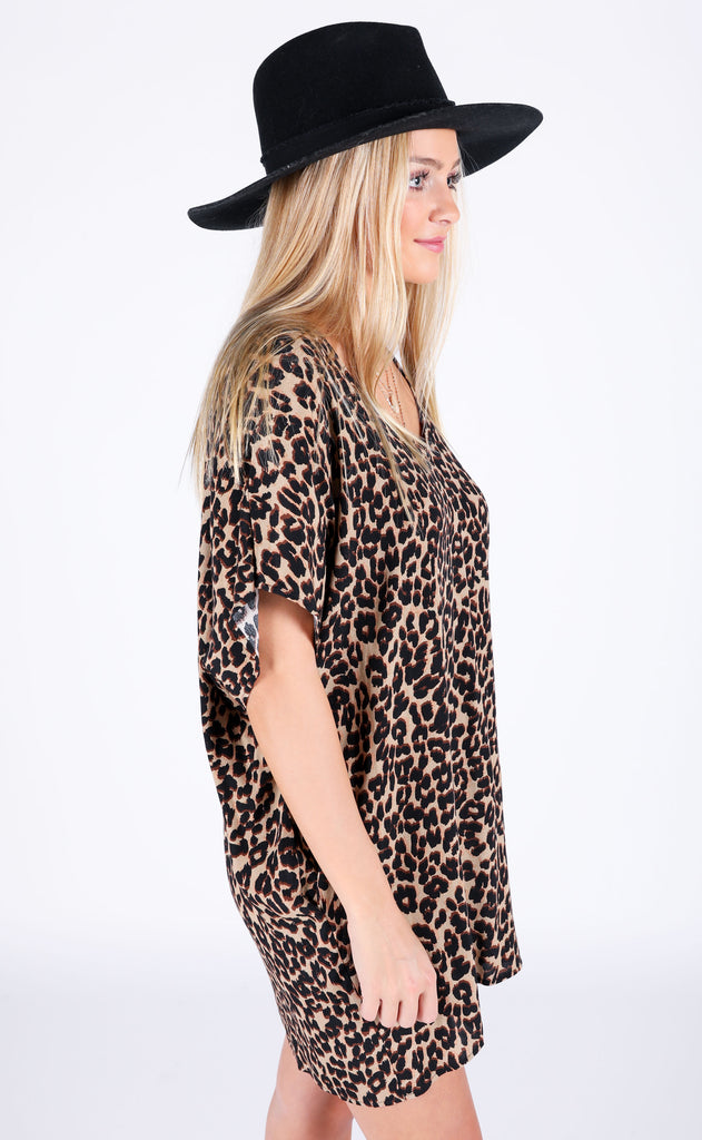 wild one printed dress