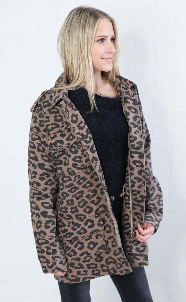 wild one printed jacket