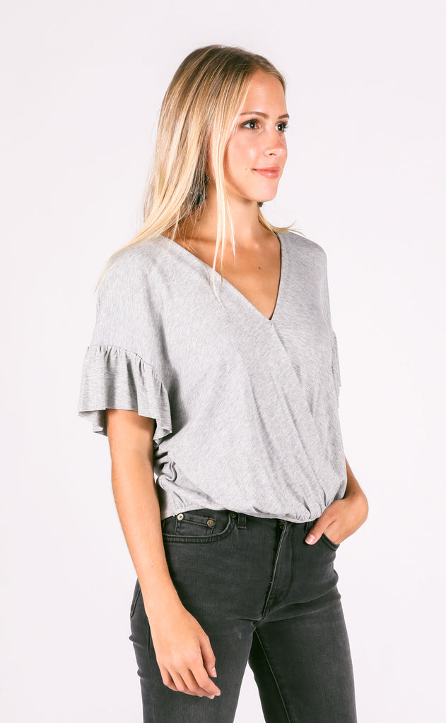 wild one tie back top