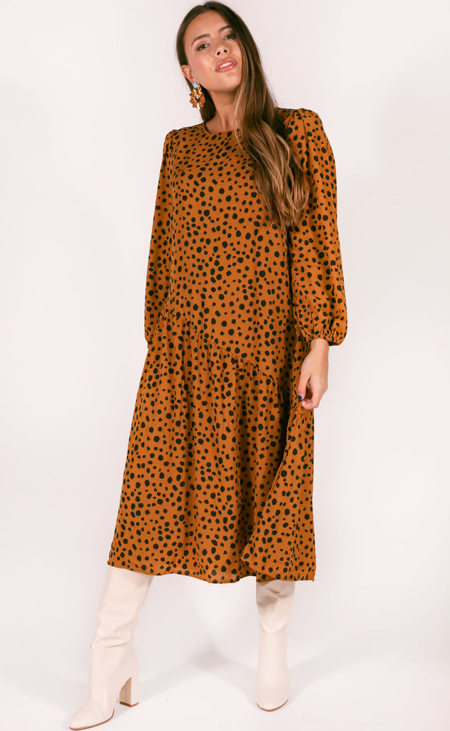 wild west spotted dress