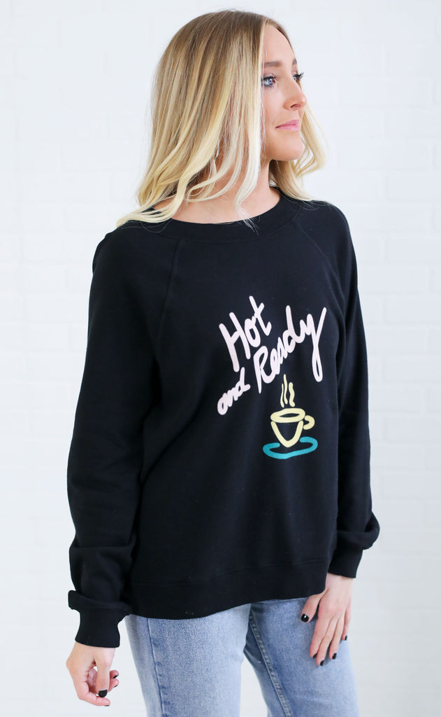 wildfox: sommers sweater - hot and ready