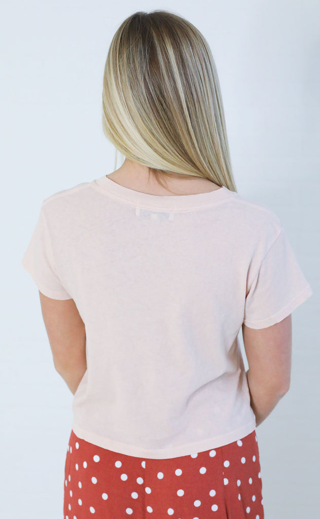 wildfox: baby tee - good side