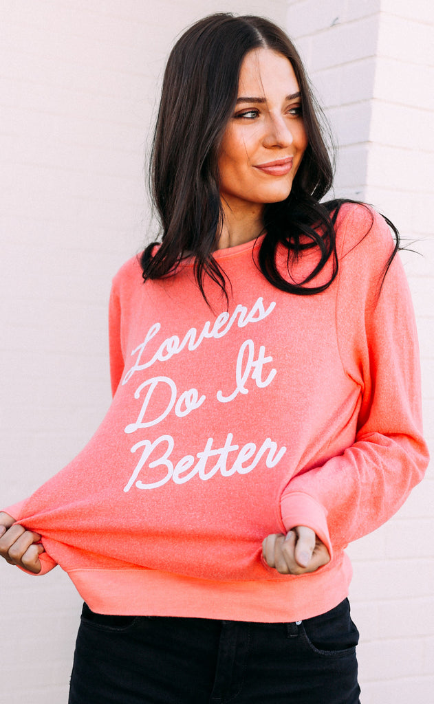 wildfox: baggy beach jumper - lovers do it better