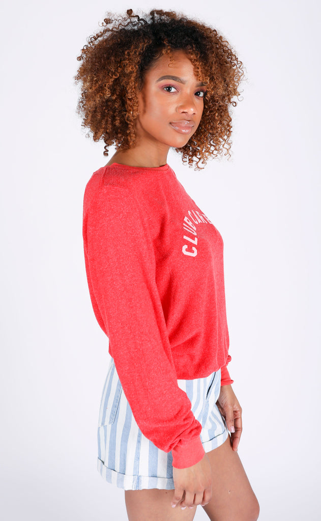 wildfox: baggy beach jumper - club carbs