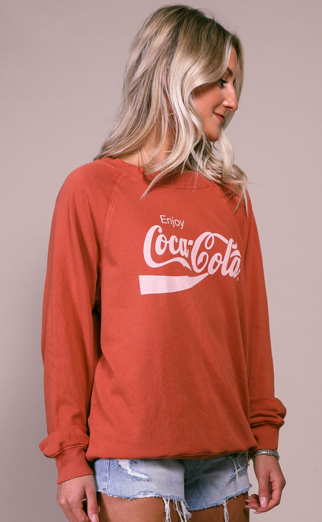 wildfox: sommers sweatshirt - enjoy coca cola
