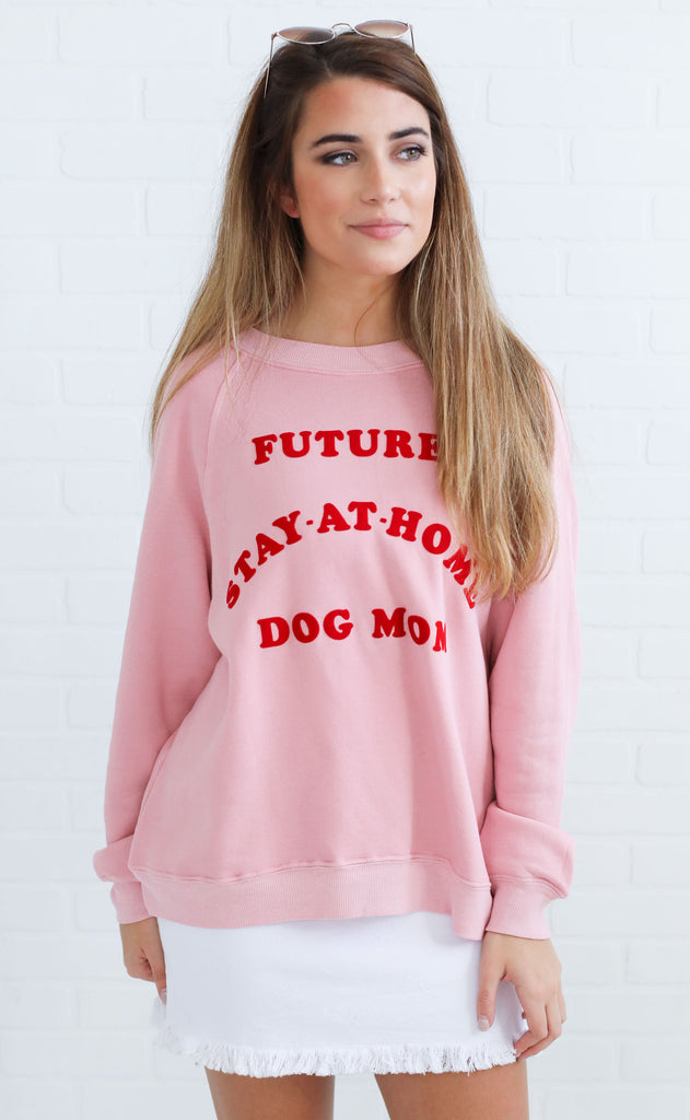 wildfox: sommers sweater - dog mom