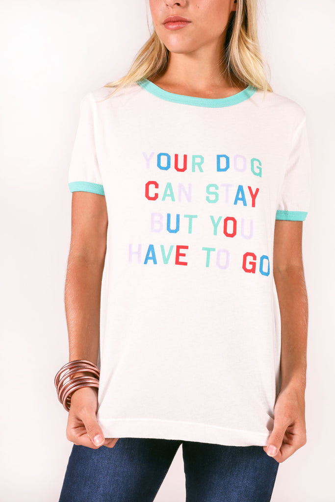 wildfox: johnny ringer tee - your dog