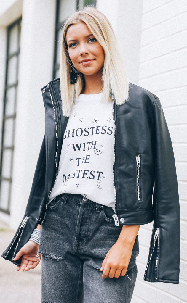 wildfox: no.9 tee - ghostess
