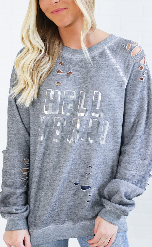 wildfox: sommers sweater - hell yeah