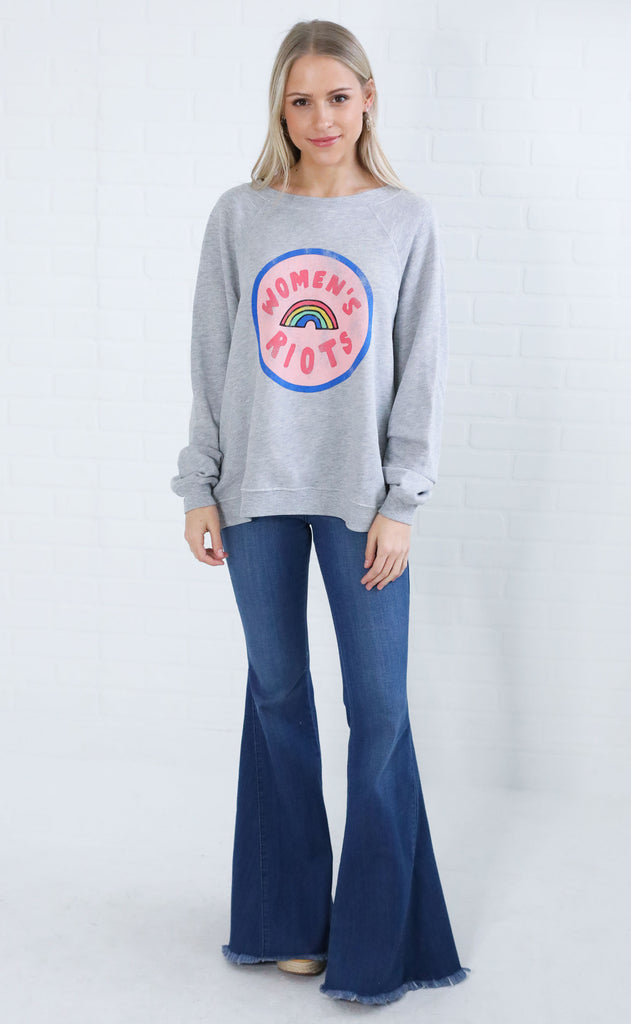 wildfox: sommers sweater - women's riots