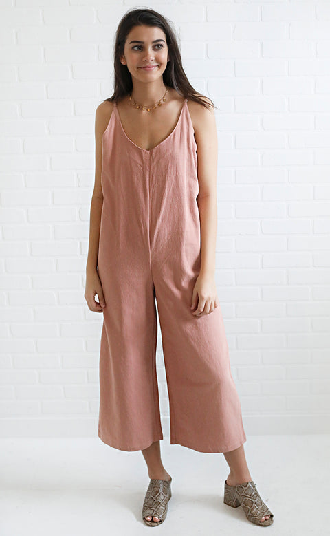 woke up like this flowy jumpsuit