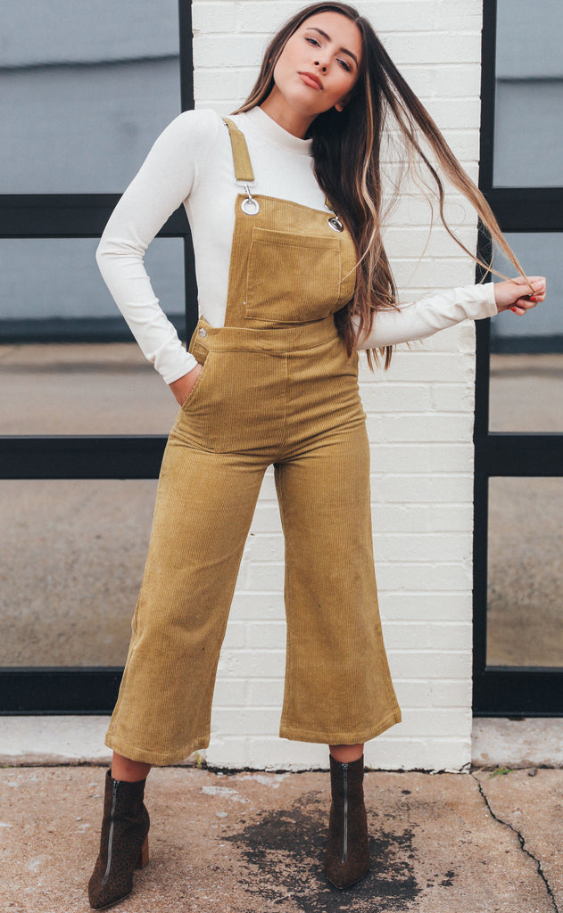 work it out corduroy overalls