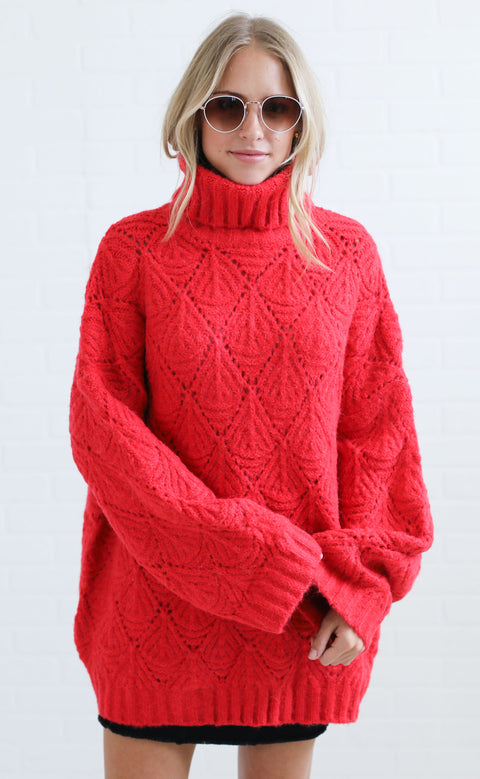 work of art knit sweater