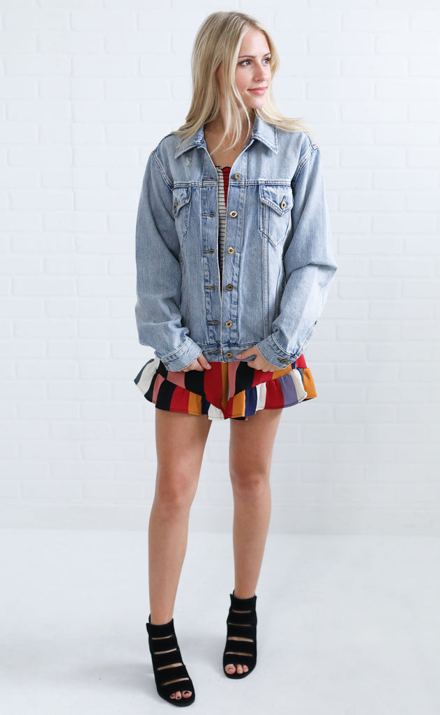 world traveler denim jacket