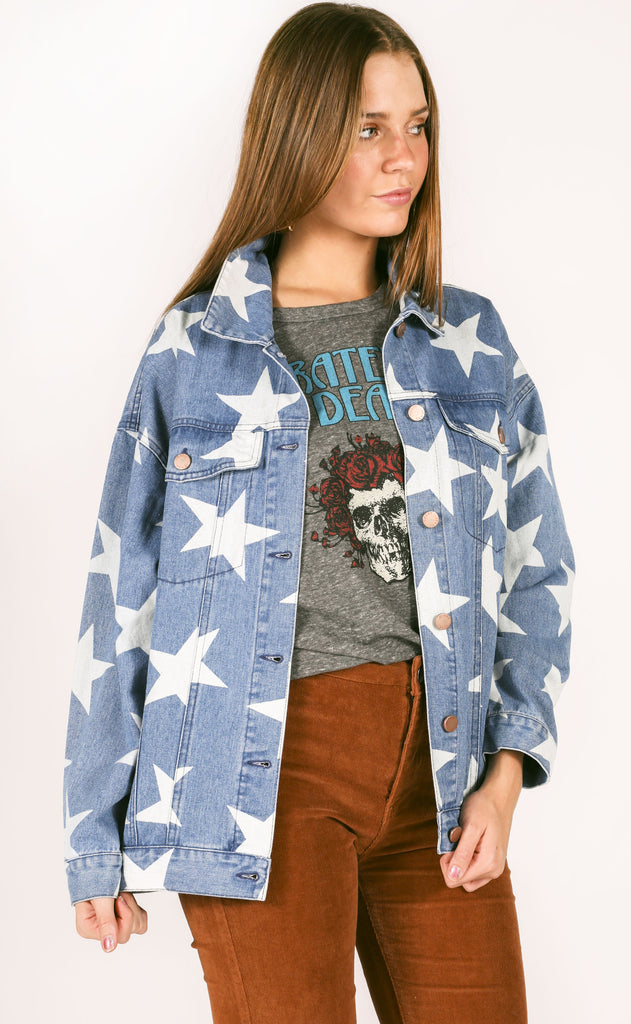 you're a star denim jacket