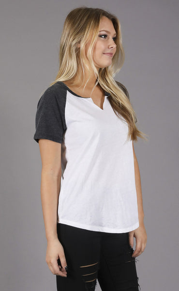 z supply: kourtney burnout t shirt