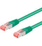 Goobay CAT 6 S/FTP CU 2m Green
