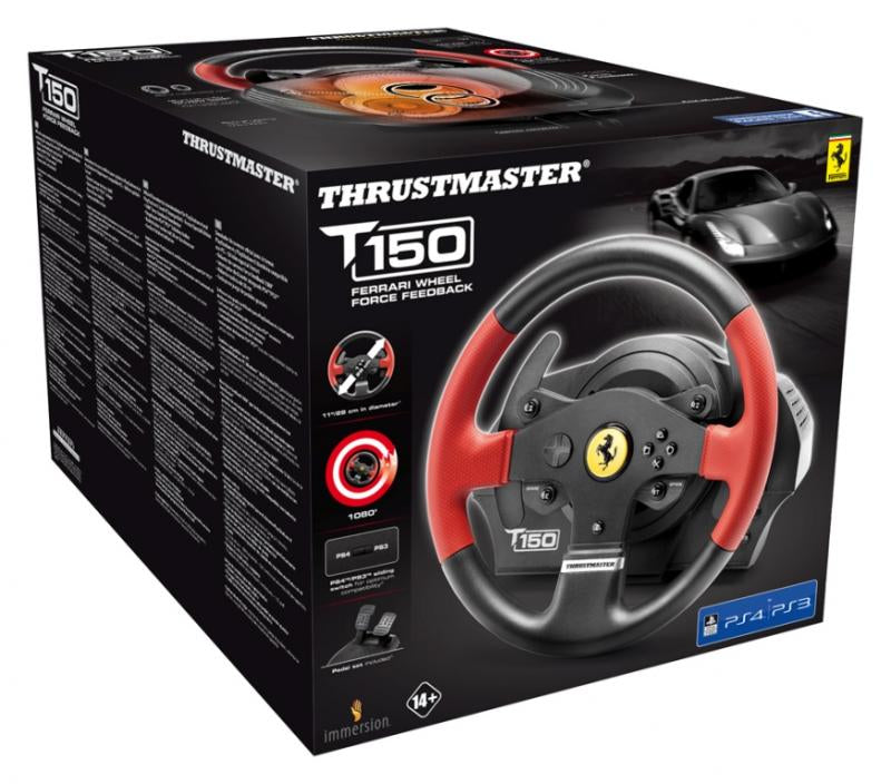 ThrustMaster T150 Rat og pedalsæt PC Sony PlayStation 3 Sony PlayStation 4