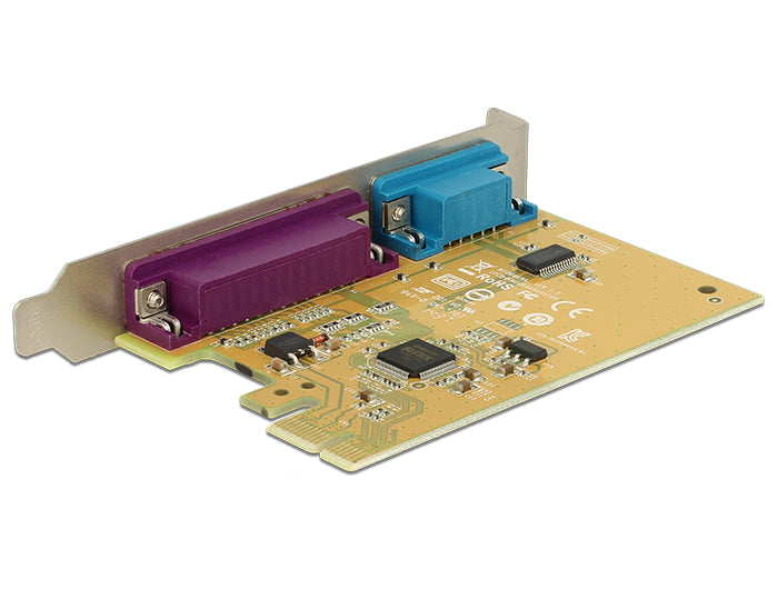 DeLock Parallel/seriel adapter PCIe 2.0 x1