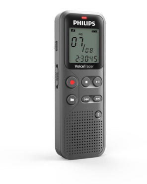 Philips Voice Tracer DVT1100 Stemmeoptager 4GB Sort