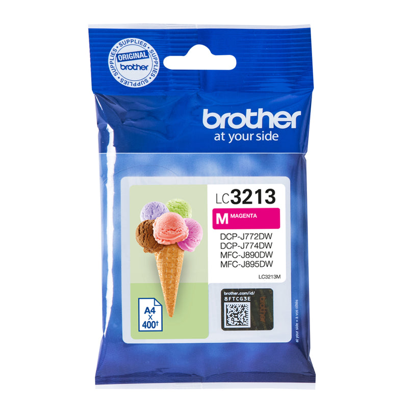 Brother LC 3213M Magenta 400 sider