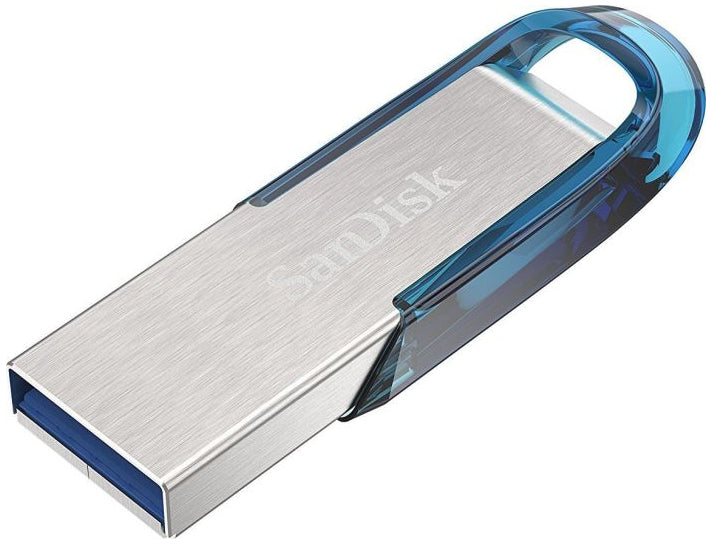 SanDisk Ultra Flair 32GB USB 3.0 Blå Sølv