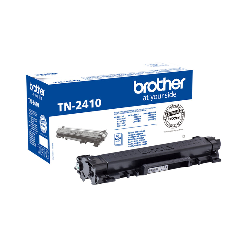 Brother TN 2410 Sort 1200 sider