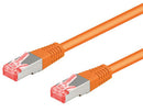 Goobay CAT 6 S/FTP CU 0,25m Orange