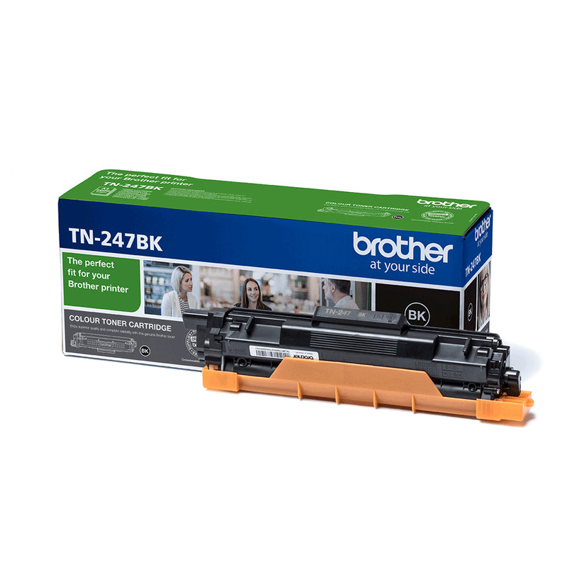Brother TN 247BK Sort 3000 sider