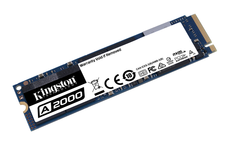 Kingston SSD A2000 250GB M.2 PCI Express 3.0 x4 (NVMe)