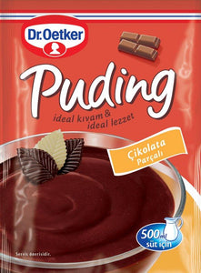 DR OETKER PUDDING CHOCOLATE CHIPS- PUDDING CIKOLATA PARCALI 24X115 GR