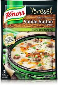 KNORR TRADITIONAL TURKISH SOUP VALIDE SULTAN/YORESEL CORBA VALIDE SULTAN  12X85 GR