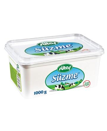 Sutas Strained Sliced White Cheese - 1000g