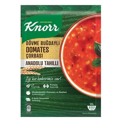 KNORR TRADITIONAL TOMATO SOUP WITH WHEAT / YORESEL DOVME BUGDAY DOMATES 12X95 GR