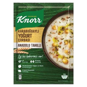KNORR TRADATIONAL WHEAT& YOGURT SOUP- BUDGAYLI NOHUT CORBASI 97 GR