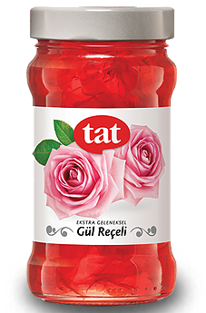 Tat Extra Traditional Rose Jam - 380g