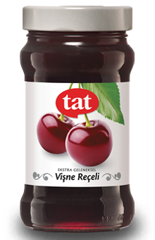 Tat Extra Traditional Sour Cherry Jam - 380g