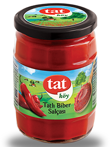TAT VILLAGE PEPPER PASTE / KOY BIBER SALCASI 12X580 GR
