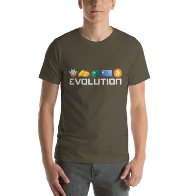Bitcoin Evolution T-Shirt - satstackers