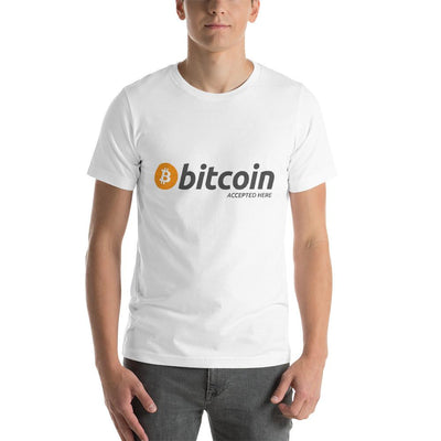 Bitcoin Accepted Here T-Shirt - satstackers