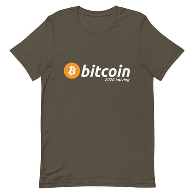 Bitcoin 2020 Halving T-Shirt - satstackers