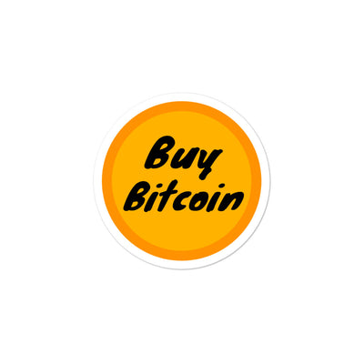 Buy Bitcoin Sticker - satstackers