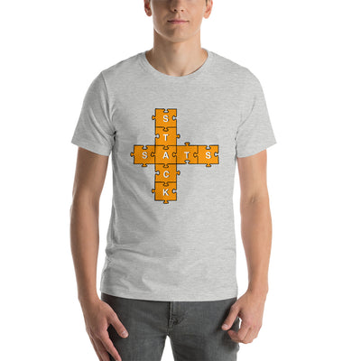 Stack Sats Puzzle T-Shirt - satstackers